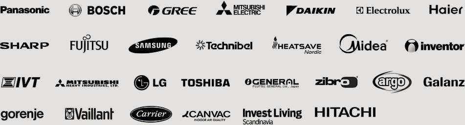CTSmall virker sammen med disse brands
